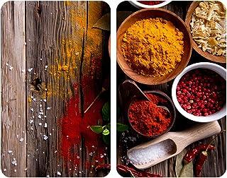 Wenko Juego cubre vitros de Cocina Universal Especias,
