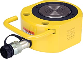 Enerpac RSM-1000 Flat Jac Single-Acting Low-Height Hydraulic Cylinder with 100-Ton Capacity, Single Port, 0.63