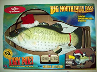 Big Mouth Billy Bass Sings for the Holidays #14749 by Gemmy
