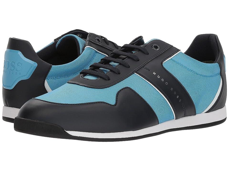 BOSS Hugo Boss Maze Low Profile Sneaker By Boss Green (Open Blue) Men