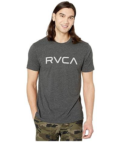 RVCA Big RVCA T-Shirt Short Sleeve (Black/Grey) Men