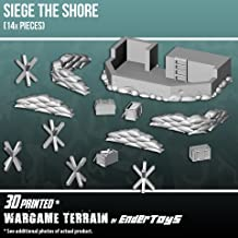 Siege The Shore, Terrain Scenery for Tabletop 28mm Miniatures Wargame, 3D Printed and Paintable, EnderToys