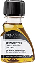 Winsor & Newton 75ml Drying Poppy Oil,WN3021743