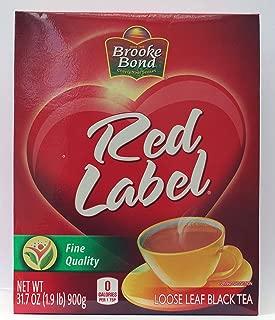 Brooke Bond Red Label Loose Leaf Black Tea, 31.7 Ounce(1.9 Pound) 900 Gram - Unilever