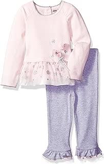 Baby Girls' 2 Piece Ruffle Tulle Pant Set