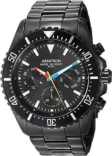 Men's Multi-Function Black Bracelet Watch, 20/5351RBTI