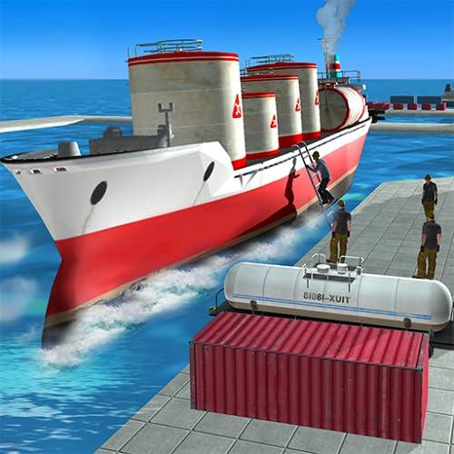 Oil Tanker Cargo Ship Simulator Games 2018