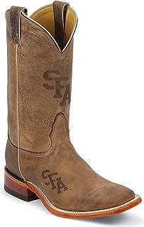 Nocona Mens MDSFA12 Stephan F Austin University Collegiate Laser Boots-Brown