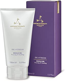 Aromatherapy Associates De-Stress Muscle Gel, 5.07 oz Tube – Pain Relief Cooling Gel For Joint and Muscle Aches and Soreness