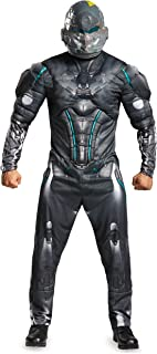 Disguise Men's Halo Spartan Locke Muscle Costume