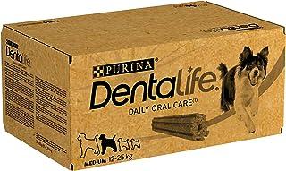 Dentalife Medium Multipack Hygiène Bucco-Dentaire Au Quotidien 84 Bâtonnets À Mâcher pour Chiens de Taille Moyenne (12 À 2...