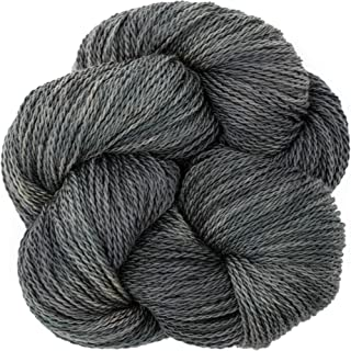 Living Dreams Yarn EcoLana. CERTIFIED ORGANIC MERINO. Cruelty Free & Responsibly Sourced. Hand Dyed in the USA. Fossil