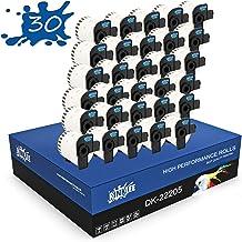 RINKLEE DK-22205 Etiquetas Continuas Compatible para Brother P-Touch QL-500 QL-550 QL-560 QL-570 QL-700 QL-710W QL-720NW QL-800 QL-810W QL-820NWB QL-1060N QL-1110NWB   62 mm x 30.48 m   30 Rollos