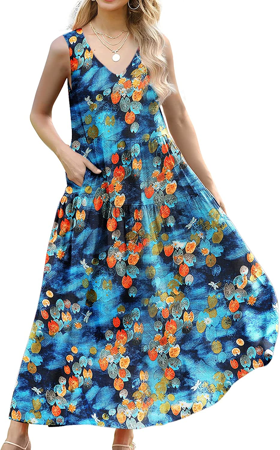 High order YESNO Women Casual Cash special price Long Floral Printed Maxi Party Beach Dresses