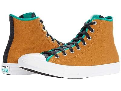 Converse Chuck Taylor(r) All Star(r) Digital Terrain Hi (Dark Soba/Black/Court Green) Lace up casual Shoes