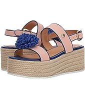 LOVE Moschino - Platform Sandal w/ Pom Pom