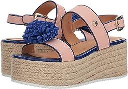 Platform Sandal w/ Pom Pom