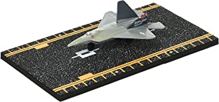 Hot Wings F-22 Raptor (Military Markings) with Connectible Runway