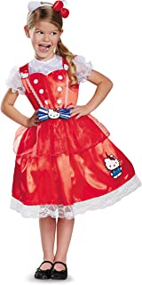 Authentic Deluxe Hello Kitty Sanrio Costume, Small/4-6X