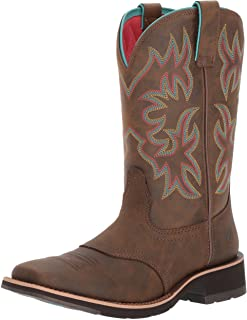 Delilah Leather Western Boots - Women's Comfortable Cowgirl Boot