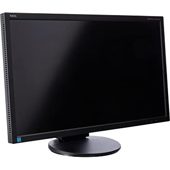 NEC Monitor EA244UHD-BK 24-Inch Screen LED-Lit Monitor,Black
