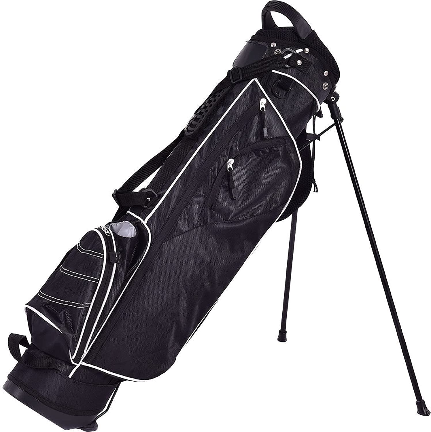 HomyDelight Golf Finally resale start Product Club Stand Cart Bag Way 4 with Divider Ca