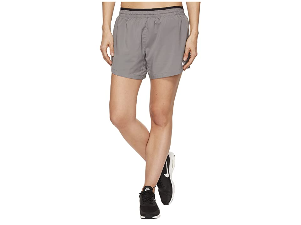 Nike Elevate 5 Running Short (Gunsmoke/Black) Women