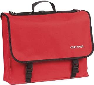 Red Sheet Music Carrying Bag by Gewa