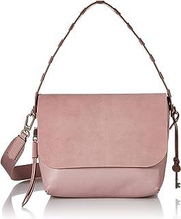 Fossil Maya Leather 27.94 cms Pink Messenger Bag (ZB7649)