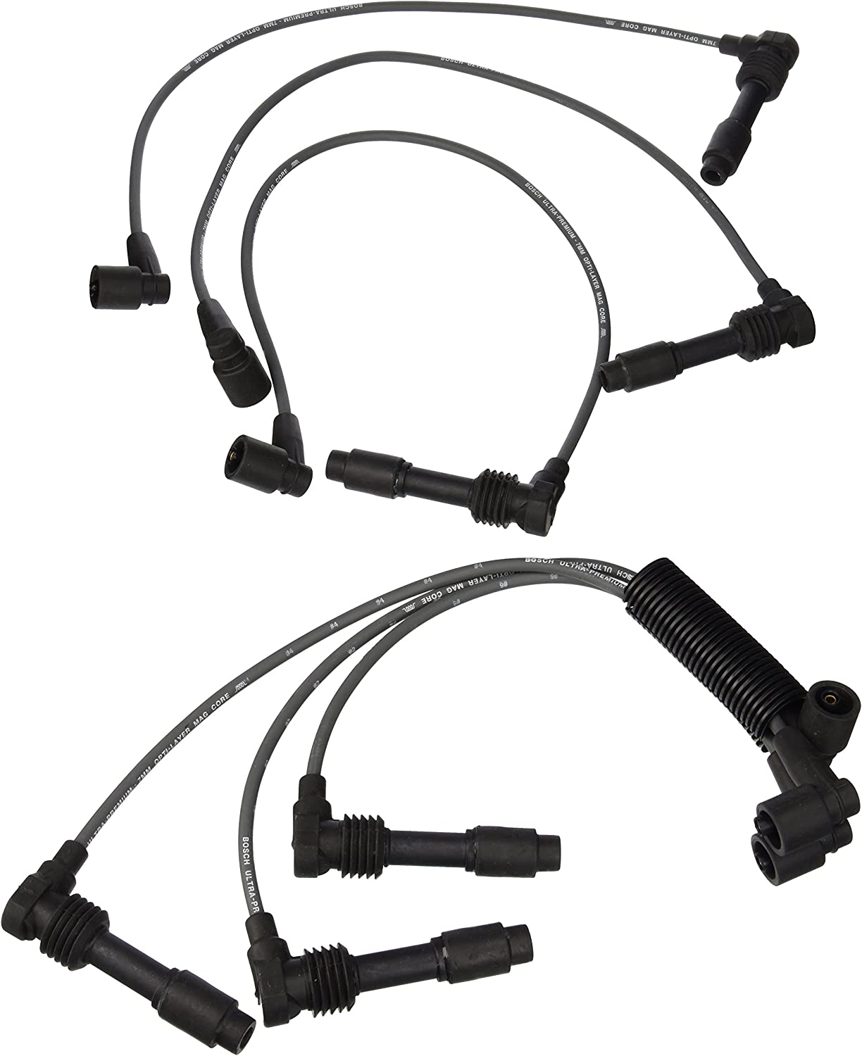 Bosch 09104 Premium Spark Wire NEW before selling Free shipping New Plug Set