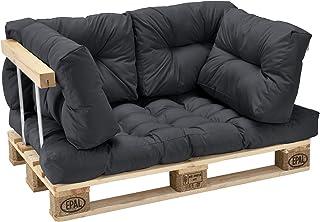 Amazon.es: cojines para sofa grises - [en.casa]®