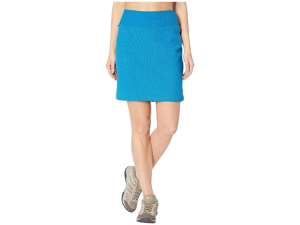 White Sierra Blacktail Fleece Skirt (Havana Blue) Women