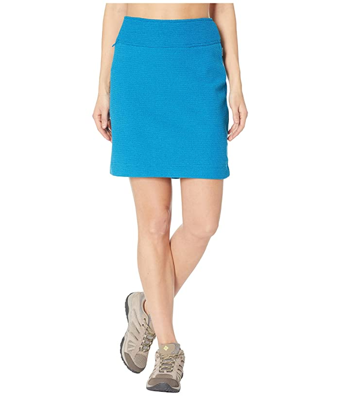 White Sierra Blacktail Fleece Skirt (Havana Blue) Women