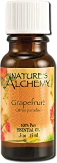 Nature's Alchemy 100% Pure Essential Oil Grapefruit, 0.5 Fluid Ounce