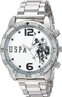 Men's Analog-Quartz Watch with Alloy Strap, Silver, 22.7...