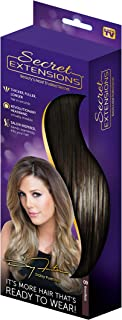 Secret Extensions - Hair Extensions by Daisy Fuentes, Brown/Black