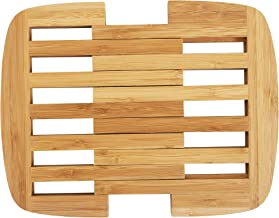"""Totally Bamboo Expandable Bamboo Trivet, 8.75"""" by 8.75"""", Brown"""