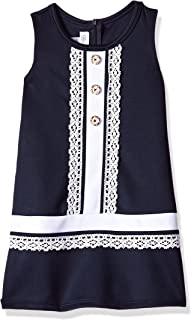 Girls' Sleevless Shift Dress