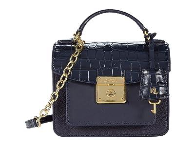 LAUREN Ralph Lauren Beckett 19 Crossbody (Lauren Navy) Handbags