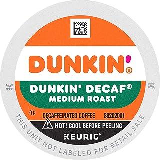 Dunkin` Decaf Medium Roast Coffee, 88 Keurig K-Cup Pods