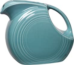 product image for Fiesta 67-1/4-Ounce Large Disk Pitcher, Turquoise