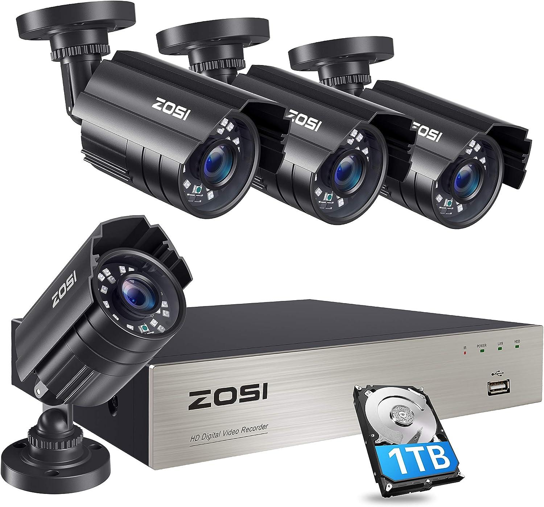 ZOSI Motion Alert Security Camera System