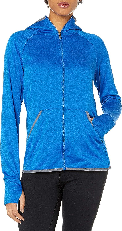 Hanes Sport Women's Performance Fleece Full Zip Hoodie at  Women's Clothing store
