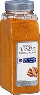 McCormick Culinary Ground Turmeric, 16 oz - One 16 Ounce Container of Powdered Turmeric Spice Perfect for Indian, Southwes...