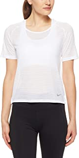 Nike Women's Miler Short-Sleeve Running