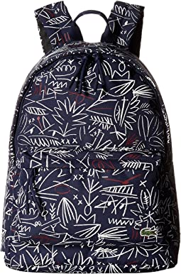 Lacoste - Neocroc Graphic Canvas Backpack