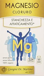Dr. Giorgini Integratore a Base di Magnesio per il Tono Fisico, Pastiglie - 200 gr, kapseln, vegan;free from preservative...