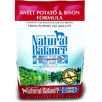 Natural Balance L.I.D. Limited Ingredient Diets Dry Dog Food, Sweet Potato & Bison Formula