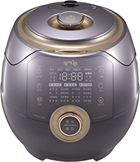 Dimchae Cook Induction Heating Pressure Rice Cooker 10 Cup (Silky Purple)