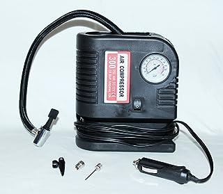 PrimeTrendz TM 300 PSI Portable Air Compressor - Tire Inflator - 12V